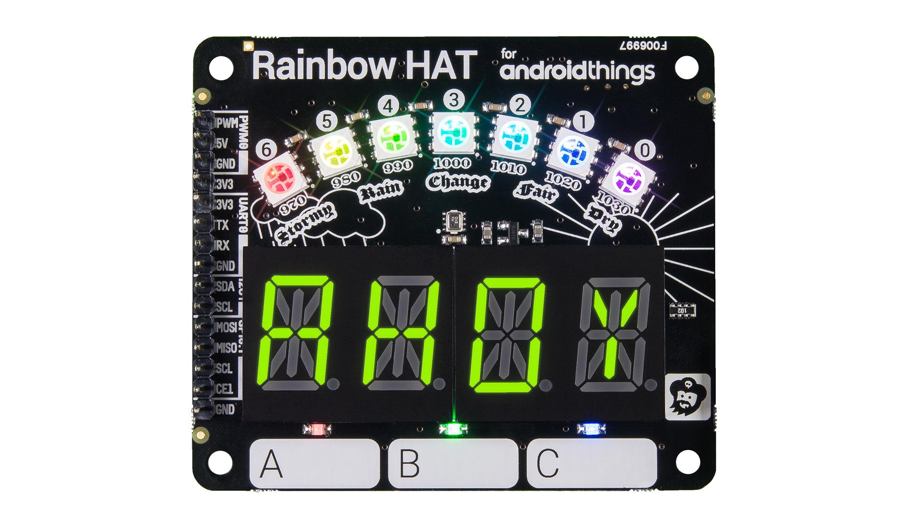 Rainbow HAT, In Depth