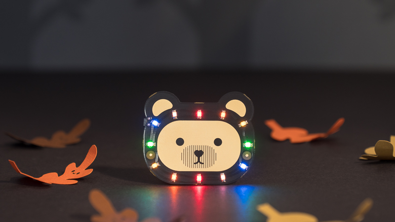 Bearables bear illuminated