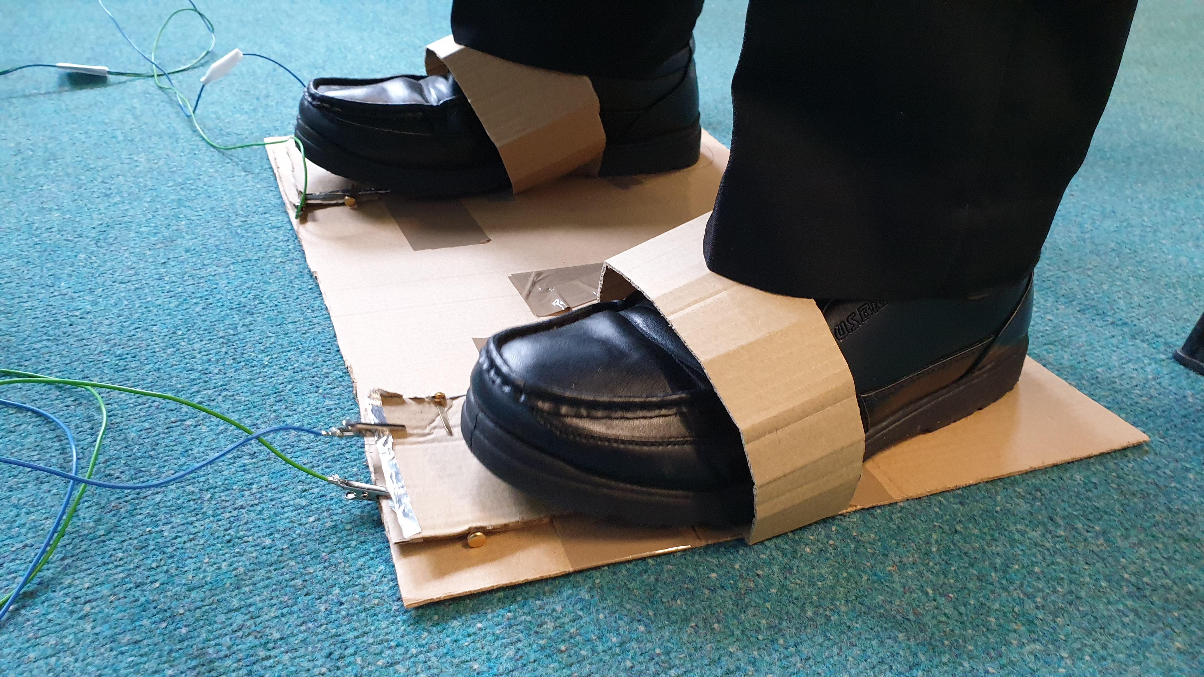 Foot controller